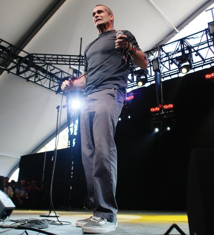 Henry Rollins Vans Sneakers