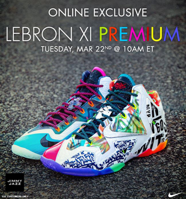 Jimmy Jazz What The LeBron 11