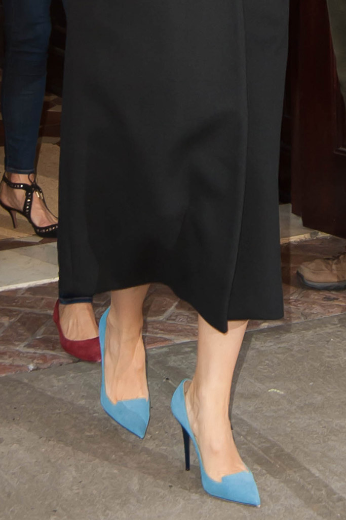 Jennifer Garner Celebrity Statement Shoes Spring 2016