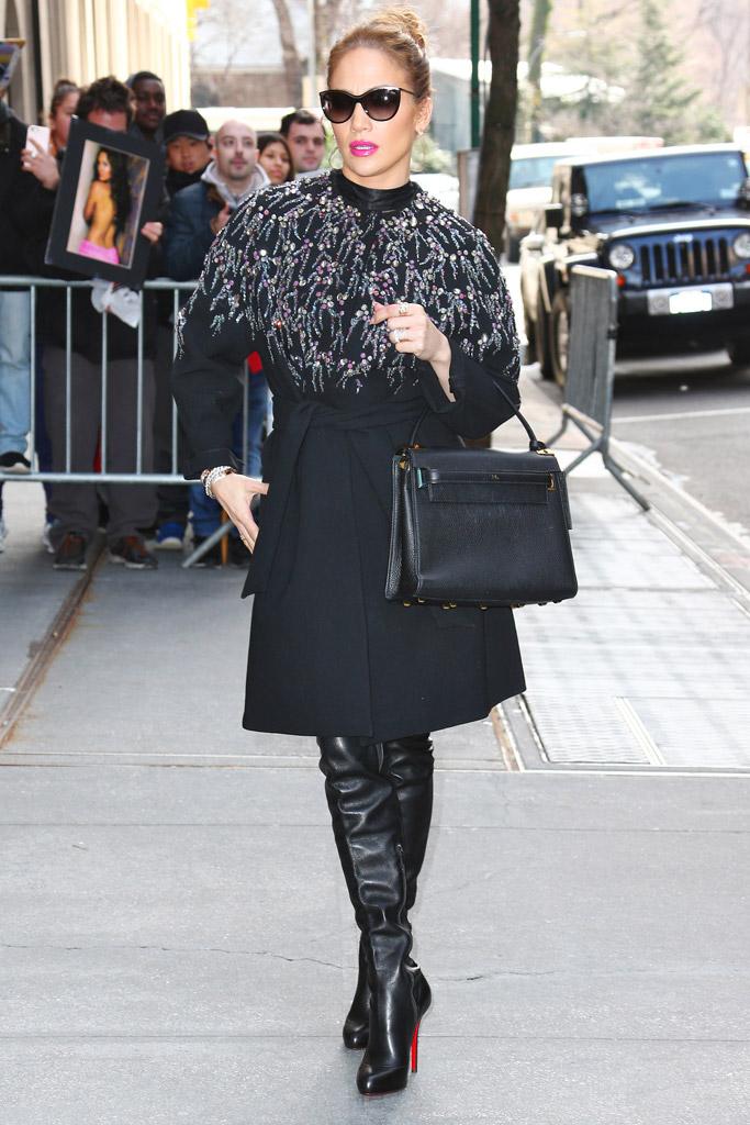 Jennifer Lopez Christian Louboutin Boots