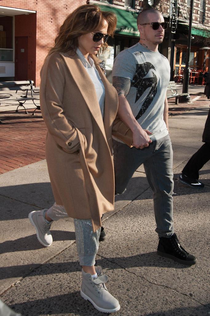 Jennifer Lopez Casper Smart Timberland Shoes