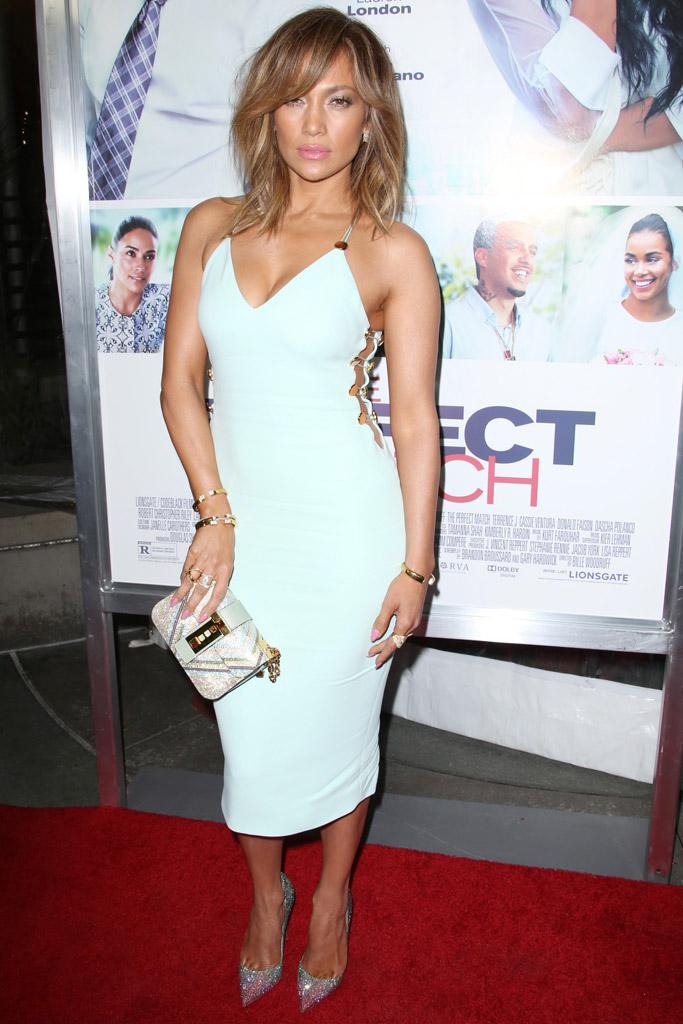 Jennifer Lopez The Perfect Match Premiere Christian Louboutin