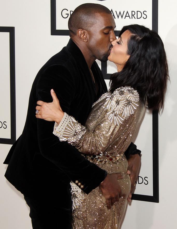 Kanye West Kim Kardashain