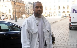 Kanye West Paris Fashion Week