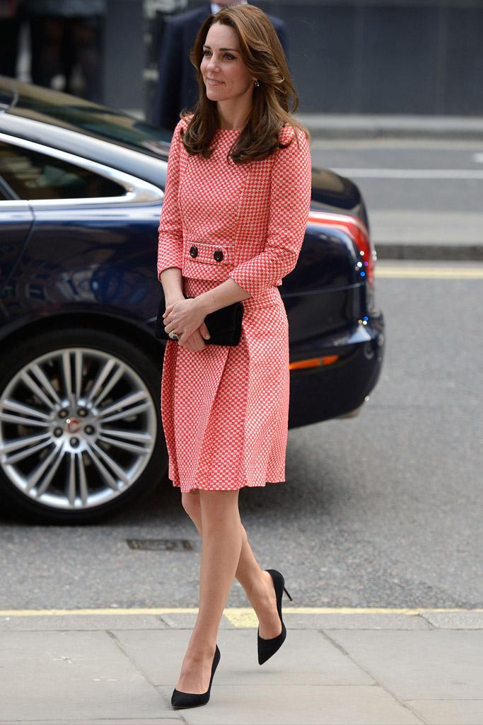Kate Middleton Celebrity Statement Shoes Spring 2016