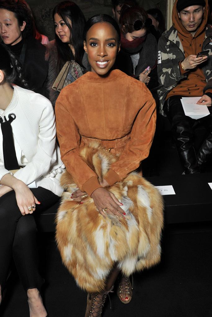 Kelly Rowland Paris Fashion Week