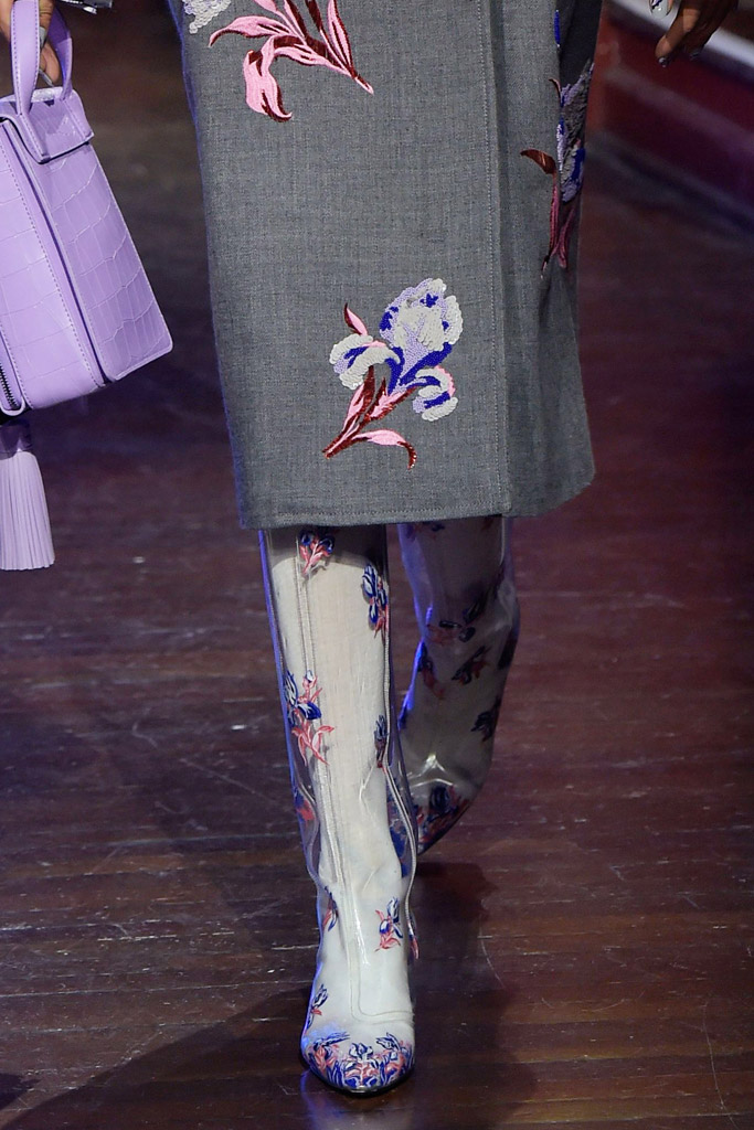 Kenzo Fall 2016 Shoes On The Runway