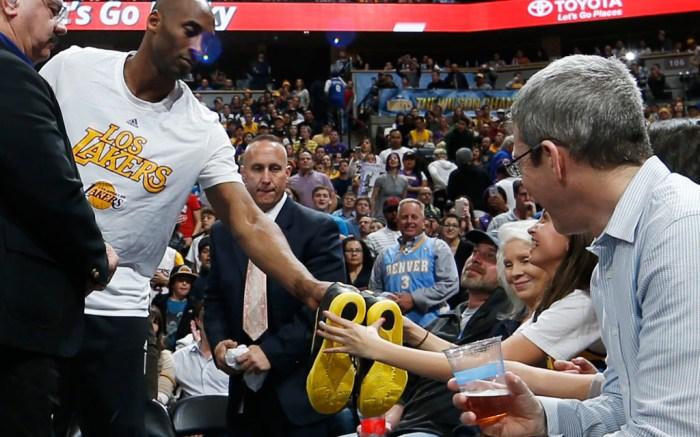 Kobe Bryant Signed Shoes