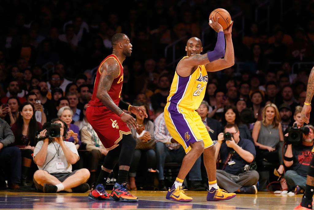 Kobe \u0026 LeBron Wear Nike Player's