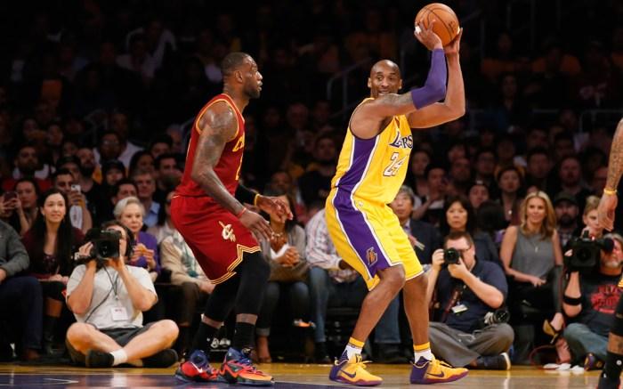 LeBron James Kobe Bryant Nike