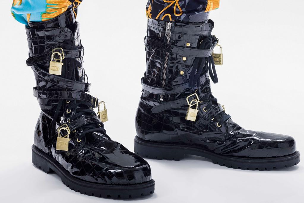 lacma jeremy scott boots reigning men