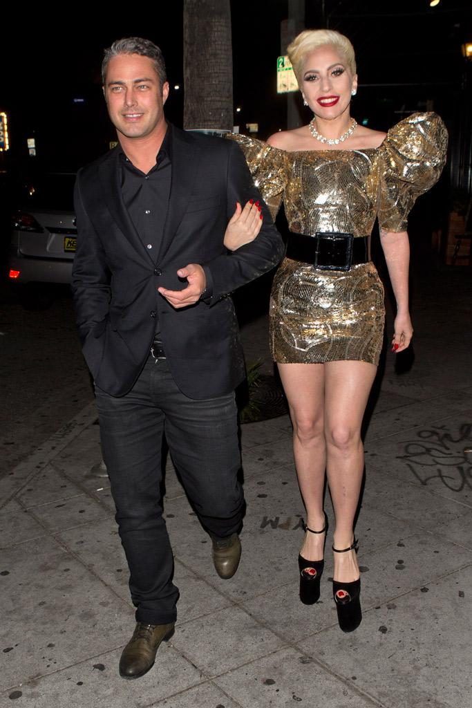 Lady Gaga 30th Birthday Brian Atwood Sandals