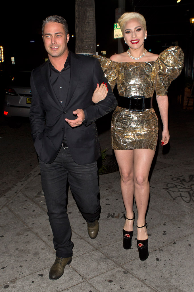 Lady Gaga Birthday Brian Atwood Heels