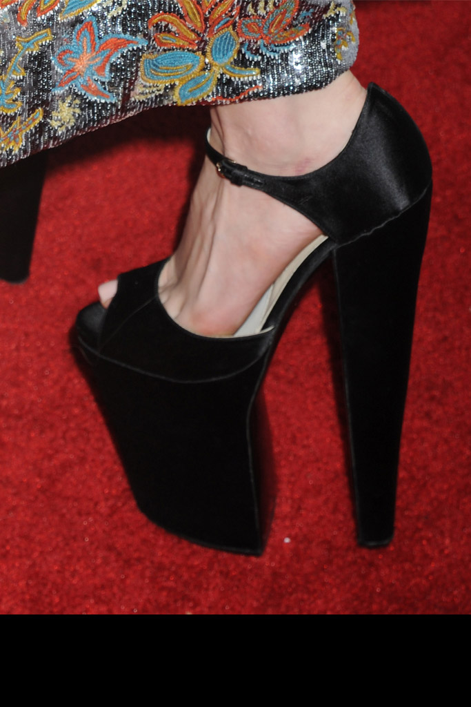 Lady Gaga Celebrity Statement Shoes Spring 2016