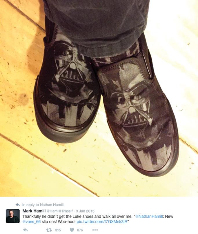 Mark Hamill Vans Sneakers