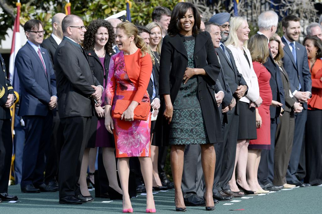 Michelle Obama Sophie Gregoire Trudeau