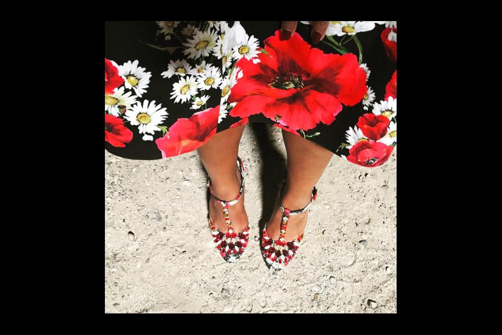 Mindy Kaling Shoe Instagram of the Week