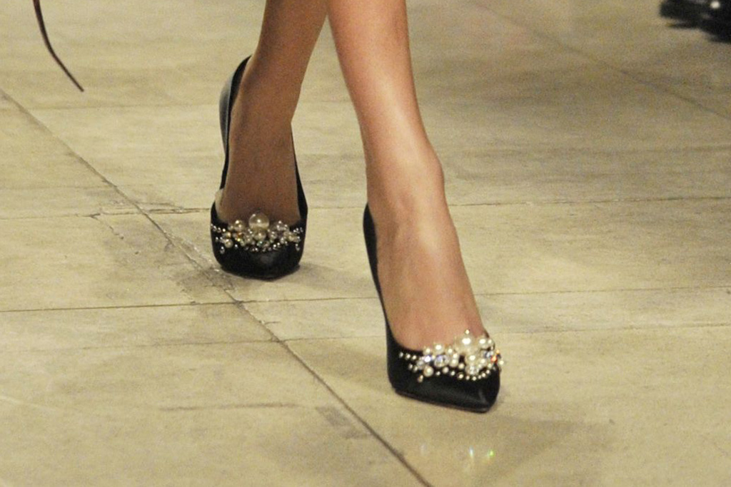 Miu Miu Fall 2016 Shoes On The Runway
