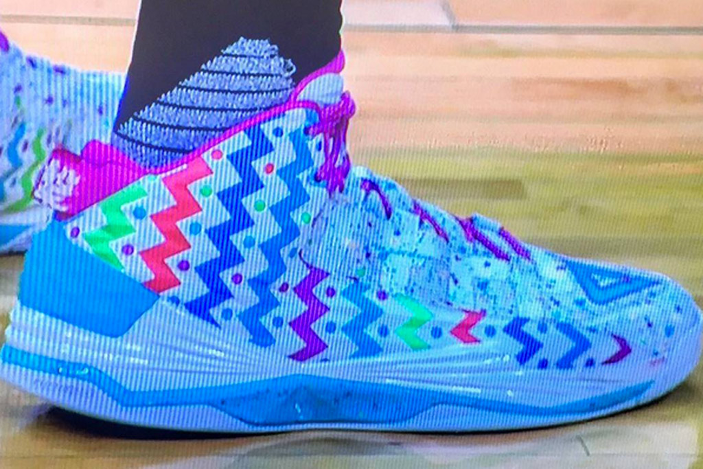 Dwight Howard Easter Sunday Sneakers