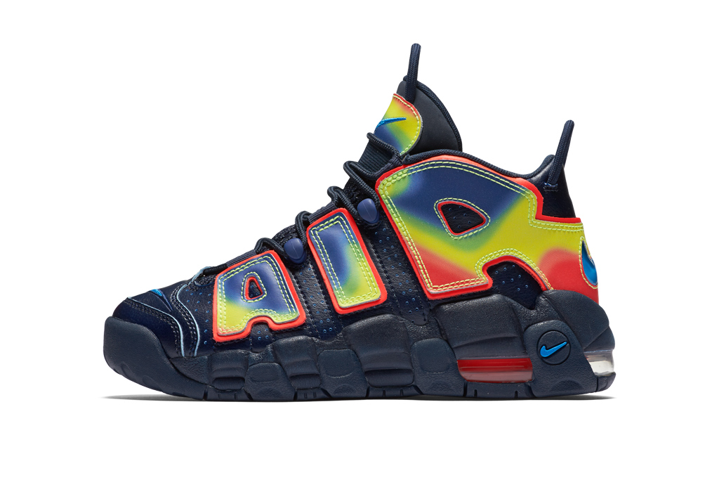 Nike Kids Heat Map Pack Air More Uptempo