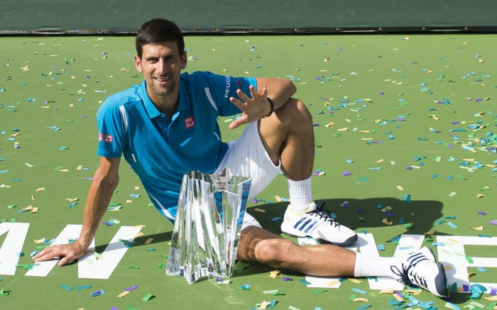 Novak Djokovic Indian Wells Tournament
