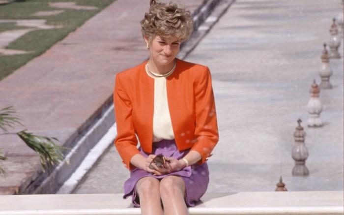 Princess Diana Taj Mahal 1992