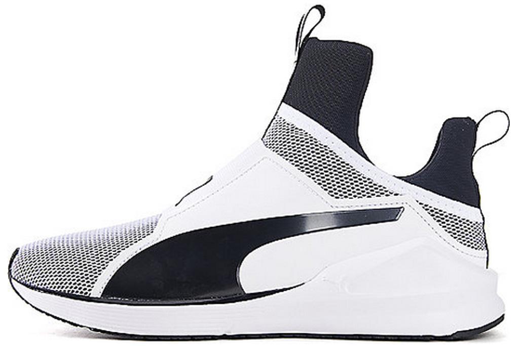Puma Fierce White Black