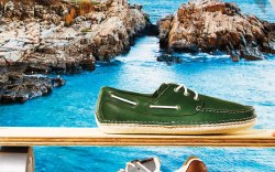Quoddy's boat shoe & New Balance's 1300 sneaker