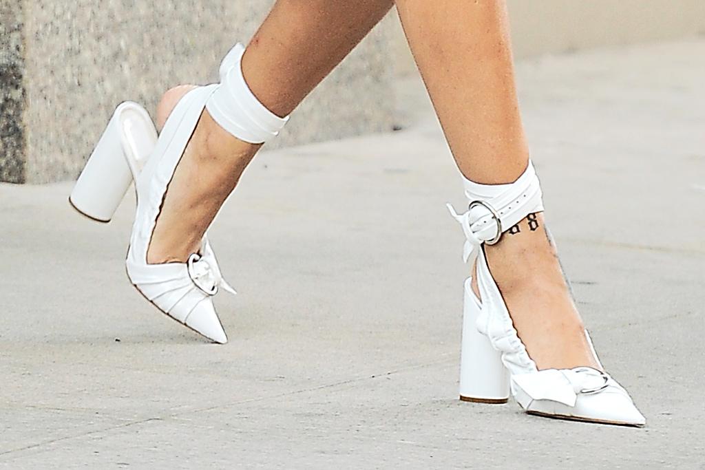 Rihanna Brooklyn Concert Dior Heels
