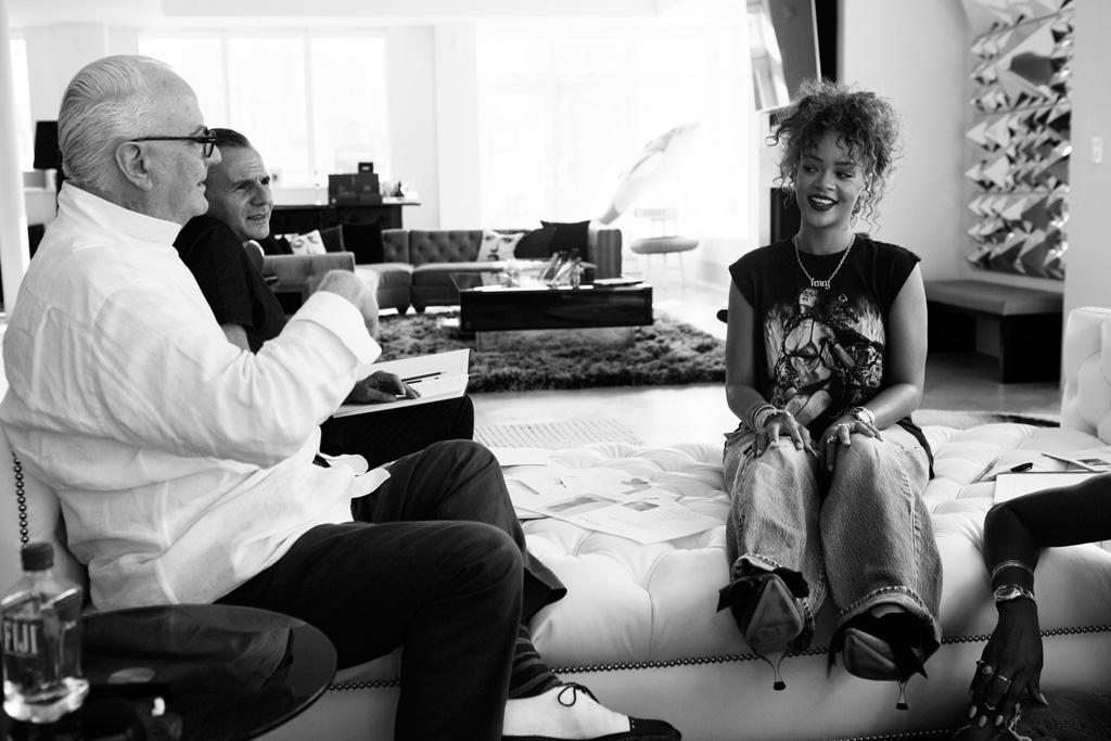 Manolo Blahnik x Rihanna Shoe Collection