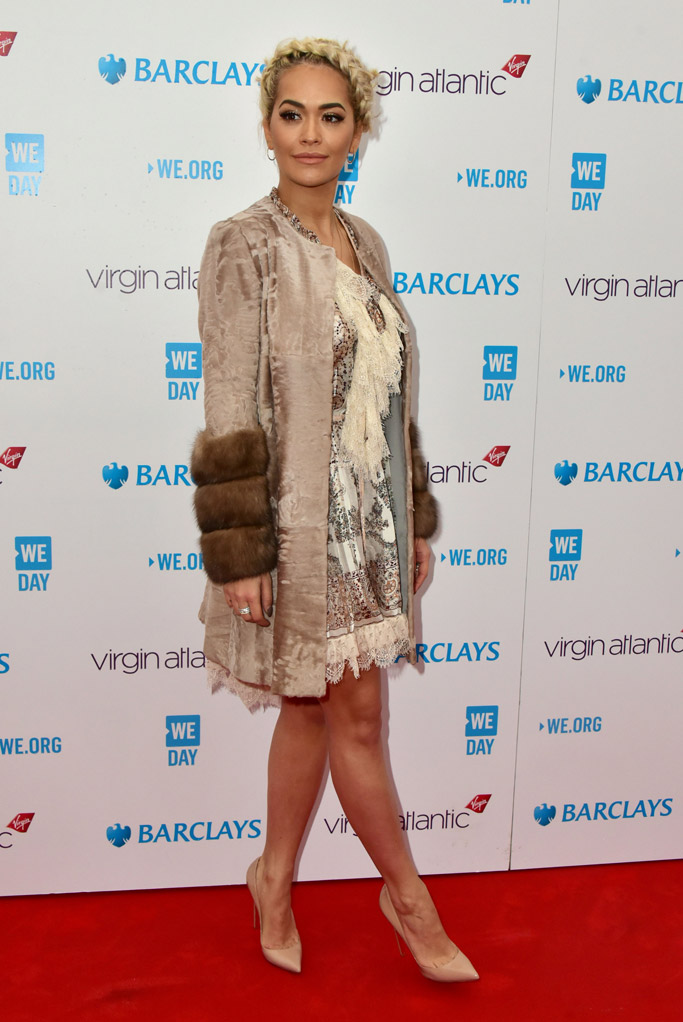 Rita Ora Celebrity Statement Shoes Spring 2016