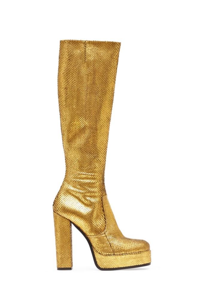 Roberto Cavalli knee high boot