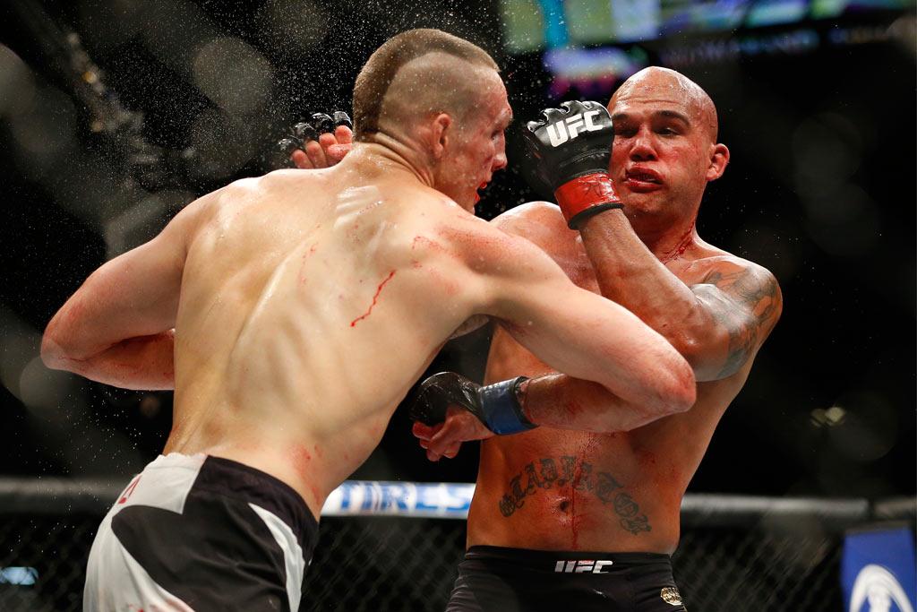 UFC; MacDonald; Lawler