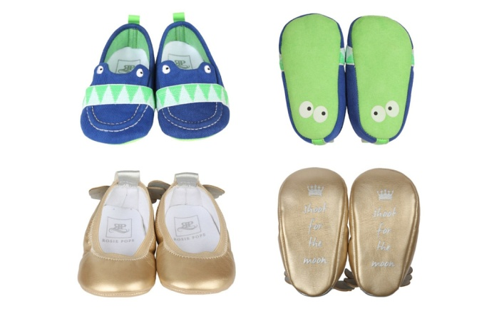 Rosie Pope Baby Shoes