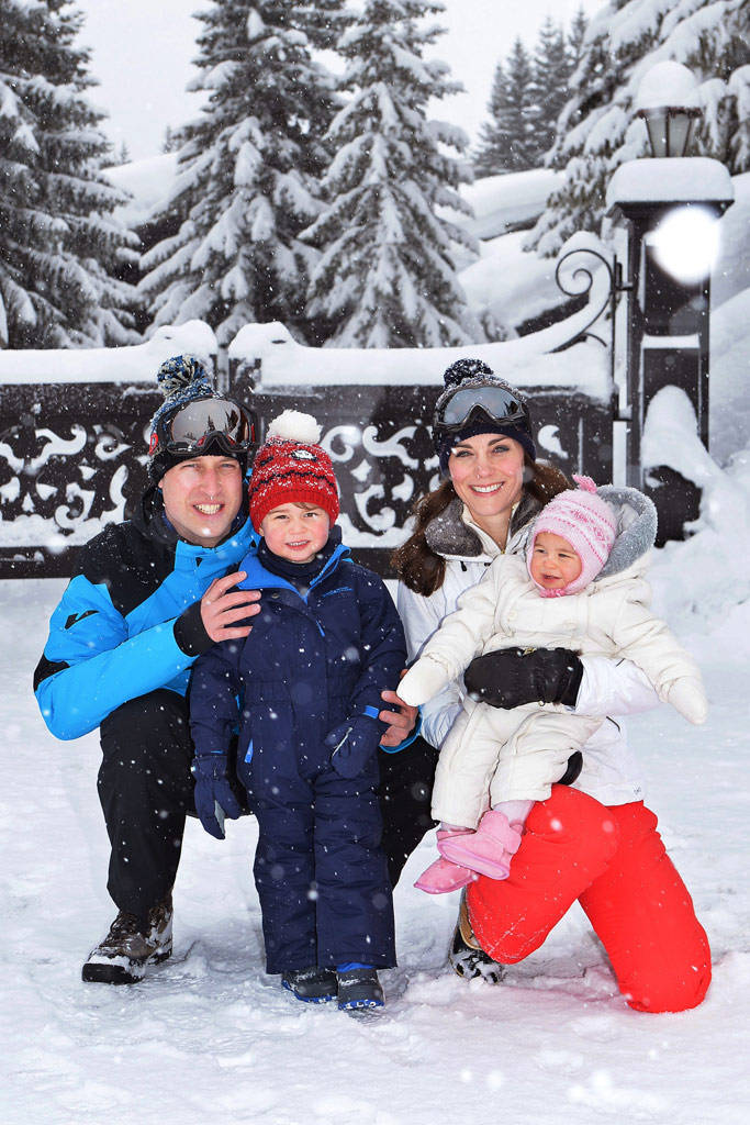 Royal Family Ski Trip Photos Princess Charlotte