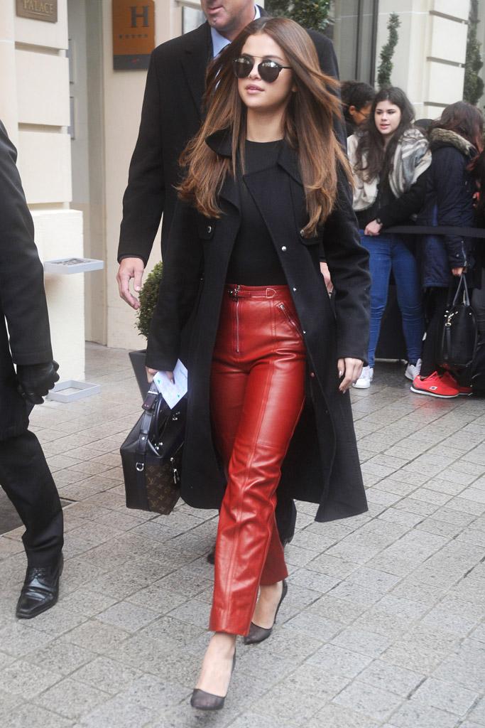 Selena Gomez Soebedar PFW