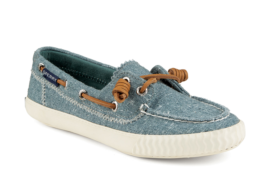 Paul Sperry Sayel Away Washed and Hemp Canvas