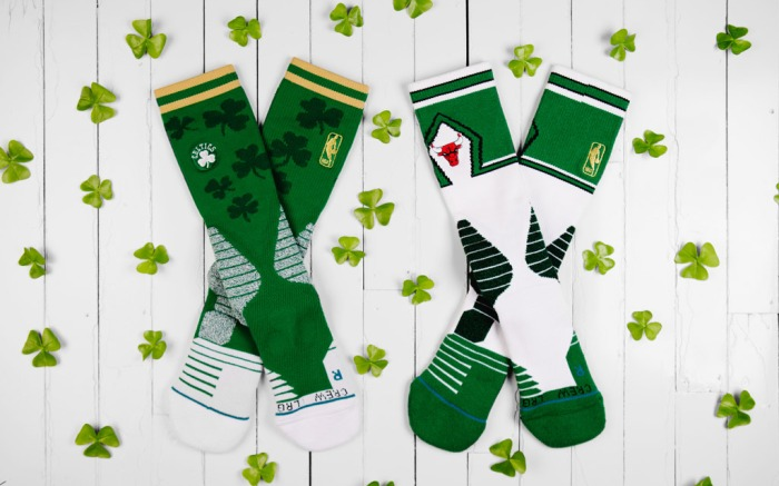 Stance x Just Don St. Patrick's Day collaboration