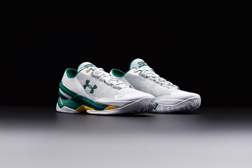Under Armour Curry Two Bay Area Oakland A's