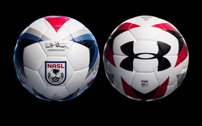 Under Armour NASL balls