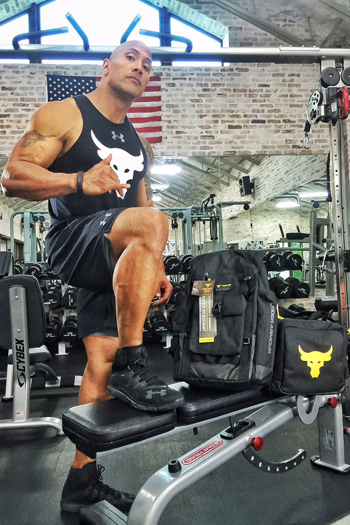 Under Armour Dwayne The Rock Johnson Project Rock