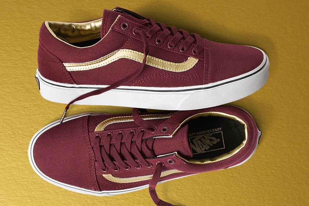 Vans Anniversary Gold Pack Sneakers