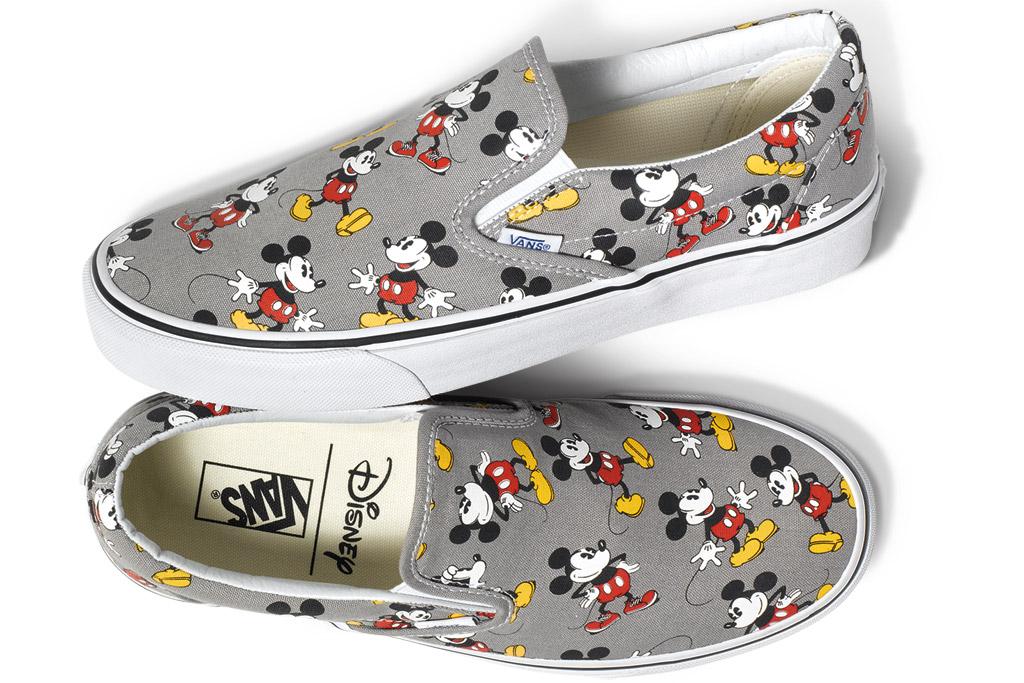 Vans Disney Mickey Mouse Sneakers