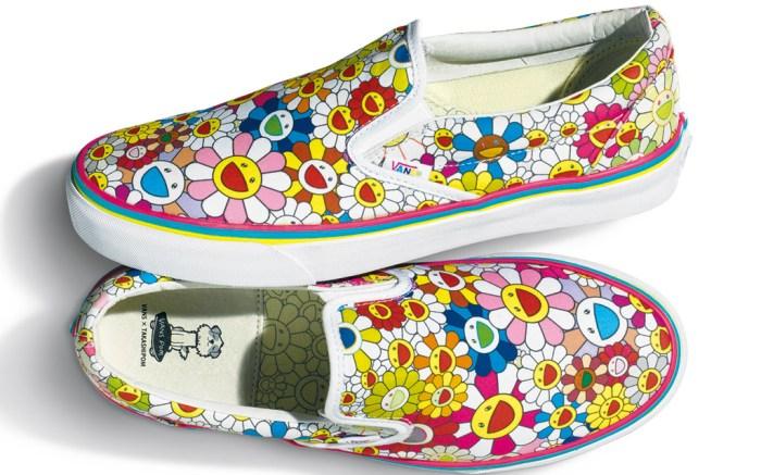 Vans Murakami Flower Sneakers