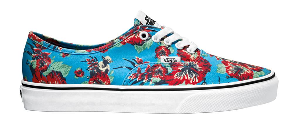 Vans Star Wars Yoda Aloha Hawaiian Sneakers