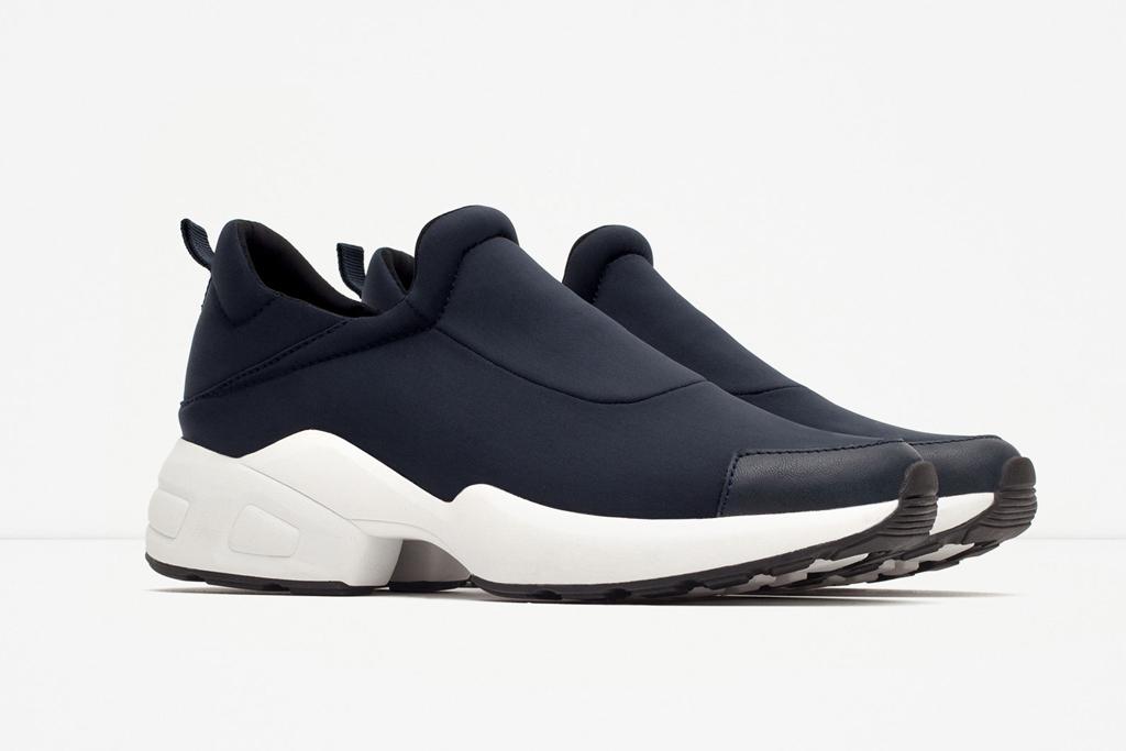 Zara Gymwear Collection Sneakers