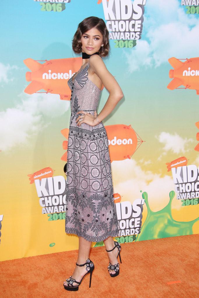 Zendaya Celebrity Statement Shoes Spring 2016