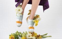 Achilles Ion Gabriel color-blocked sneakers