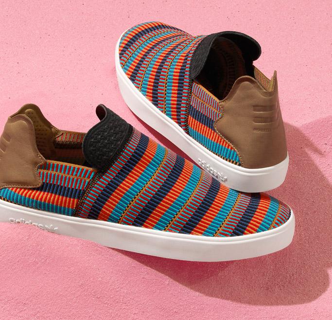 Pharrell Williams' Adidas 'Pink Beach