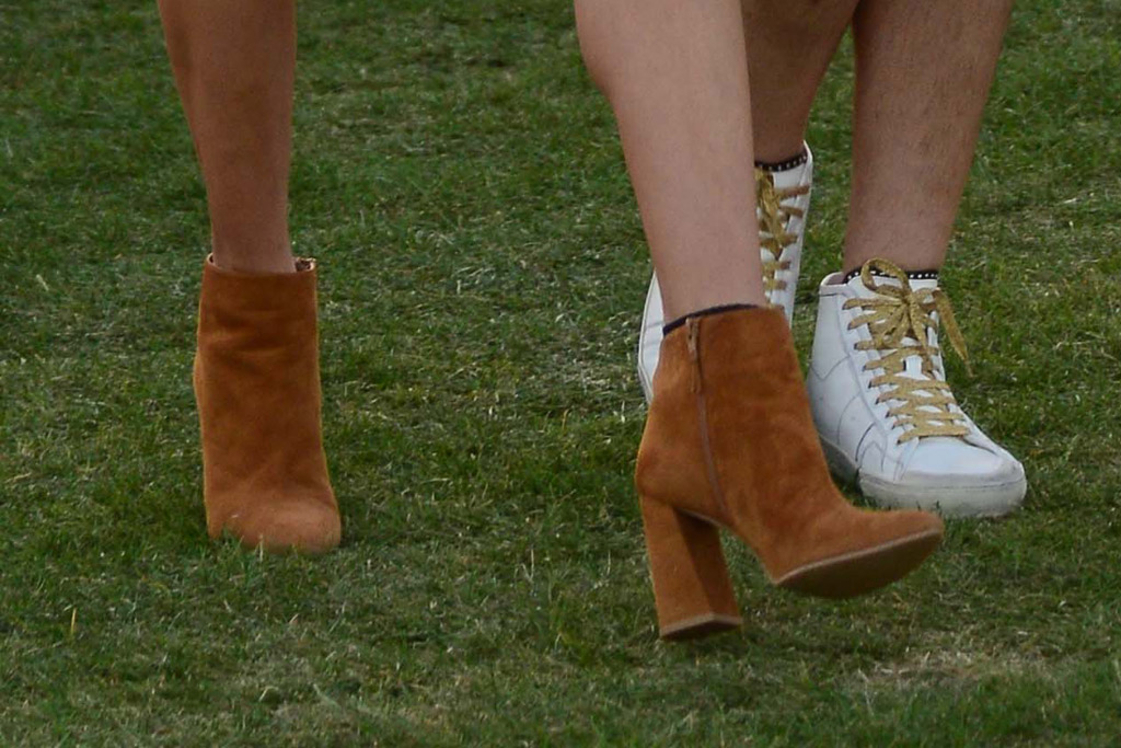 Alessandra Ambrosio Coachella 2016 Shoes